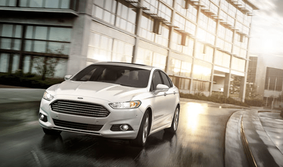 The 2013 Ford Fusion