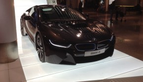 BMW i8 Munich Airport