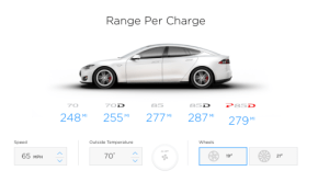 tesla range calculator
