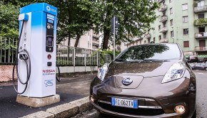 Zero emission Nissan vehicles set to electrify Milan at UEFA Cha