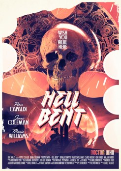 Doctor Who series 9 Radio Times poster by Stuart Manning 12 – Hell Bent
