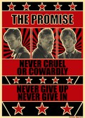 Doctor Who poster THE PROMISE by Ewan McGee