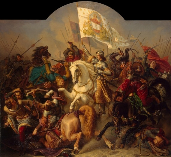 Herman Stilke - Zwycięstwo Joanny d`Arc