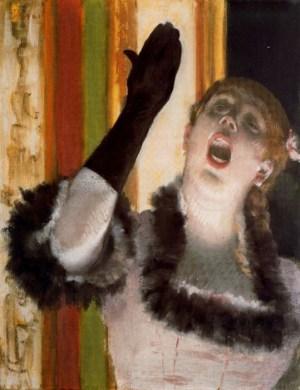 Edgar Degas - Aria