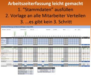 Excel Arbeitszeiterfassung Vorlage 2016