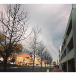 #Rainbows on my #commute home yesterday.
