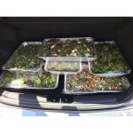 """When you get asked to """"pick up some tubs of #salads"""" from #TheCrazyJoker you should expect them to be #comically #large. Luckily the @kiaaustralia #Cerato had more that enough room. #igersrockhampton #nocatsforaweek #foodporn #instagood #instasalad #youdontmakefriendswithsalad #instafood #instafoodie #Rockhampton #Queensland #Catering"""