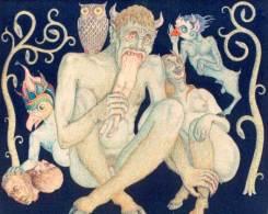The Satan's Femily [sic] -- artist unidentified