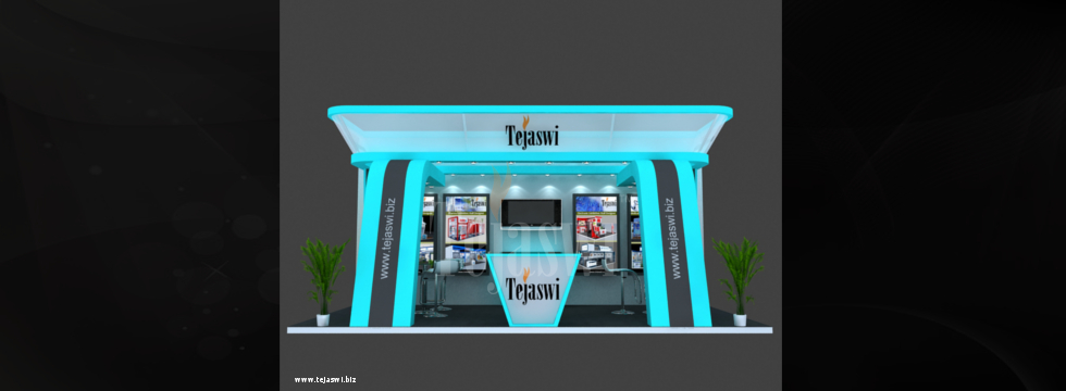 6 x 3 Mtr (18 Square Meter) 3d Exhibition Stall Design