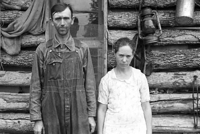 Rehabilitation clients, Boone County, Arkansas; photo by Ben Shahn, October 1935