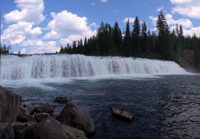 Cave Falls, Fall River, Yellowstone National Park, August 16, 2014