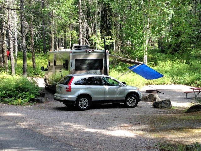 Apgar Campground,  Glacier National Park, Montana, August 28, 2014