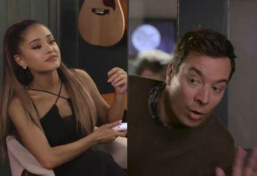 Ariana Grande-Jimmy Fallon
