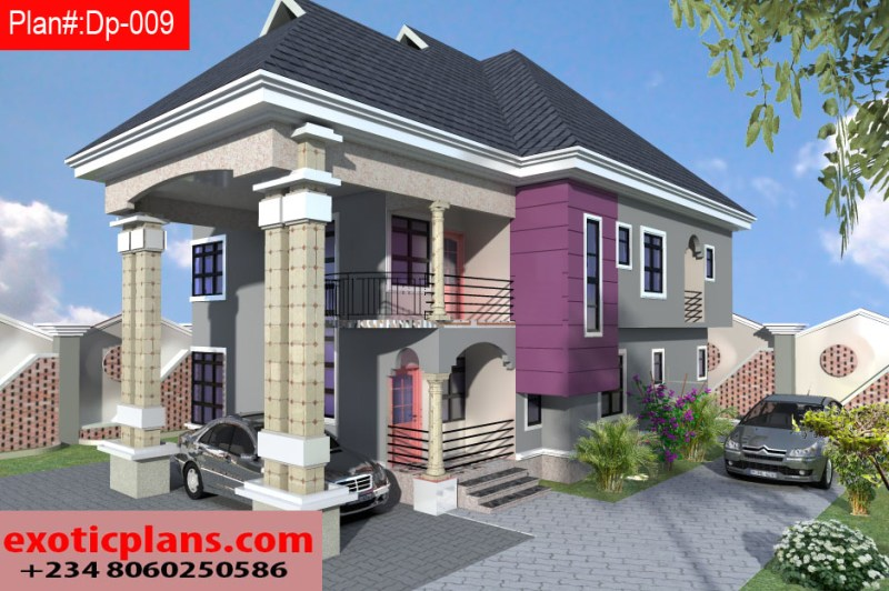 4 Bedrooms Duplex Dp 009
