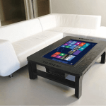 Gigantic Coffee Table Touchscreen Computer