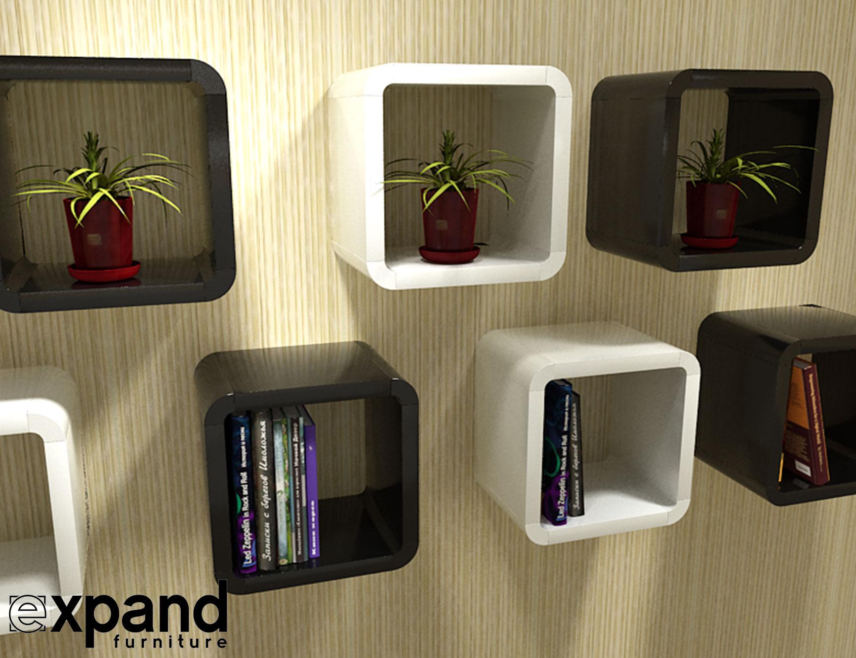 Fullsize Of Cube Wall Shelves