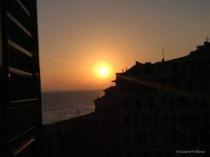 Sunset in Camogli 2