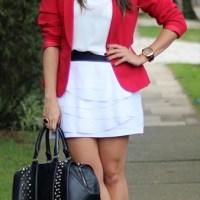 COMBINAÇÃO DE CORES |Branco, preto e vermelho, um trio perfeito!