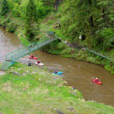 Hornad river floating