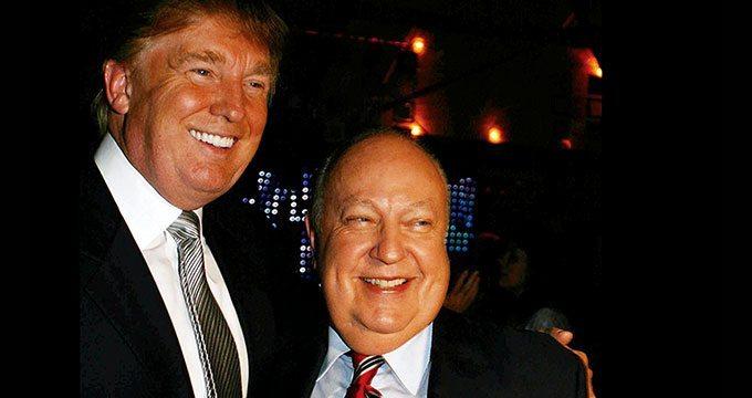 Donald Trump defends sexual predator head Roger Ailes