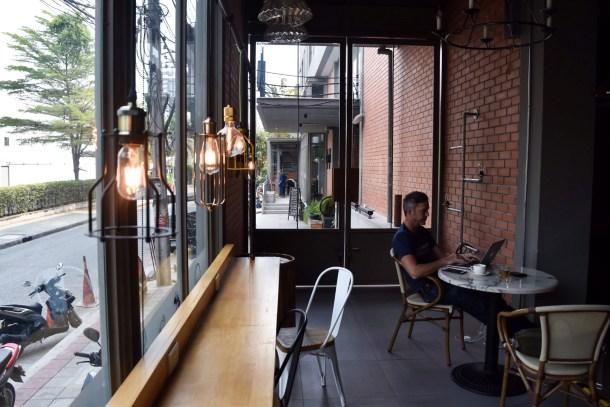 The Cafe part of Light Loft