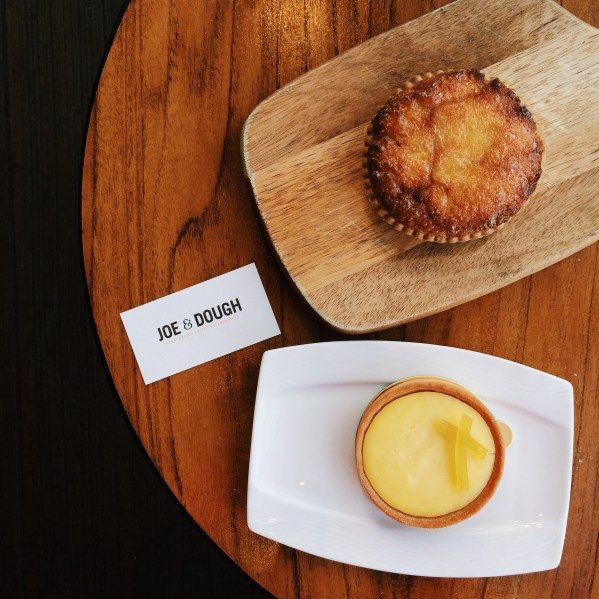 And desserts like their lemon and coconut tart are also available for delivery!