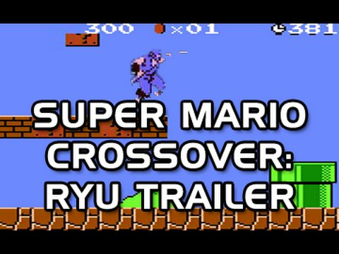 Super Mario Bros. Crossover – Ryu Hayabusa Trailer