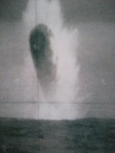 Imagen 2. Objeto desconocido fotografiado en el Ártico por el Submarino USS Trepang (SSN-674)