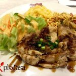 Teriyaki Chicken Meal - feveret blogger Mahamahu