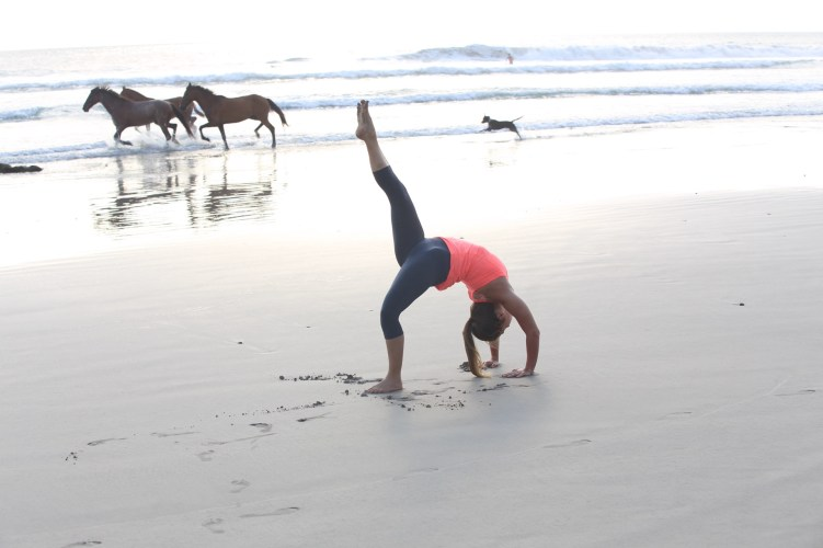 Alana Roach, Wild Horses on in Santa Teresa, Costa Rica with lancelaurence.com