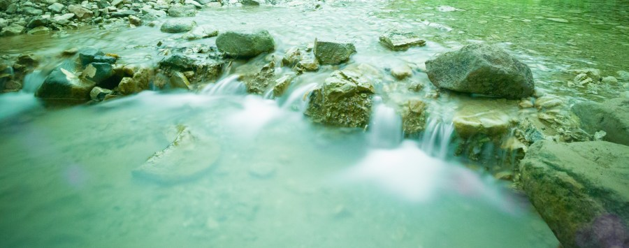 Beautiful stream with mini waterfalls in Santa Teresa www,lancelaurence.com