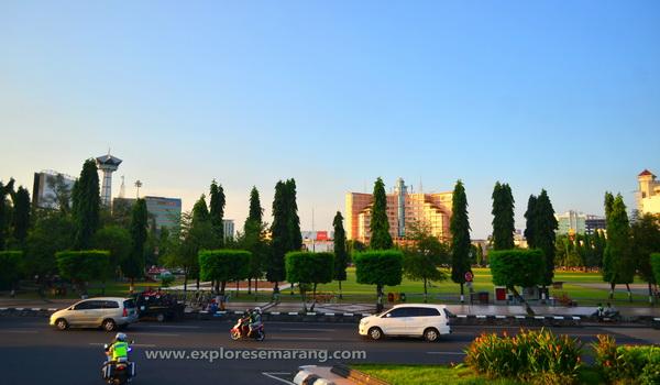 Lapangan Simpang Lima Semarang