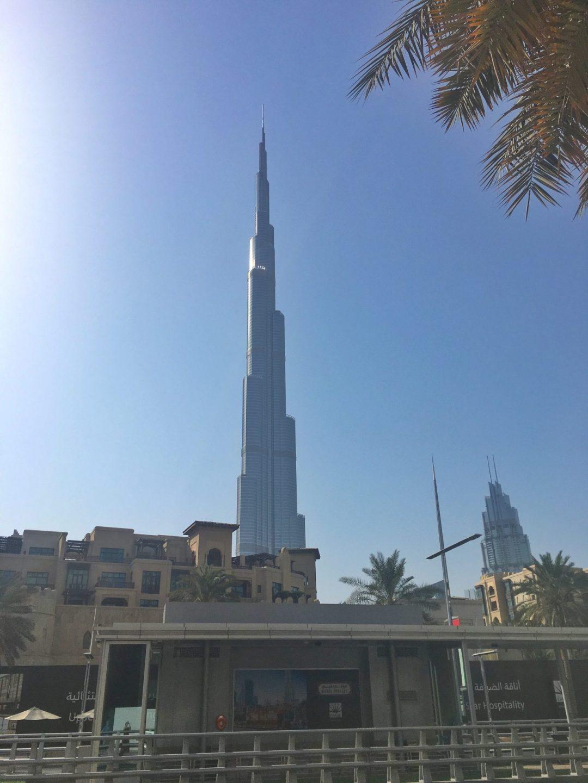 Fume Dubai view of Burj Khalifa