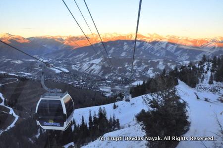 Gondola Ride up Bald Mountain Sun Valley