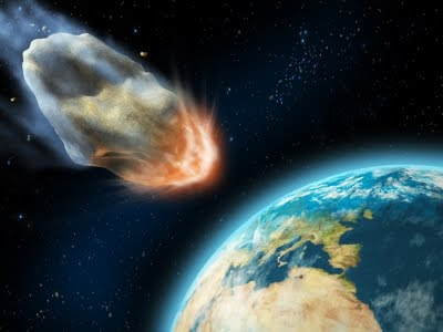 meteoroids and asteroids hitting earth - photo #3
