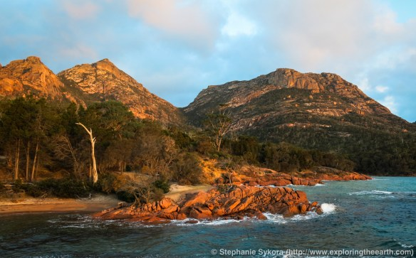 Tasmania, Australia, Travel, Geology, Geomorphology, Adventure, Blog, Rocks, Freycinet Peninsula, Freycinet, National Park, photography, explore, outdoors, nature, science, geoscience, ocean, shore, granites, wineglass bay, Mt. Amos, Hazards, Freycinet Peninsula Circuit, hiking, bushwalking