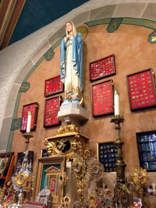 Relic Collection at St. John Gualbert's Church in Cheektowaga, NY