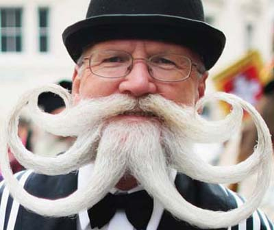 15 Most Bizarre Beards and Mustaches (Weirds Beards and Mustaches ...