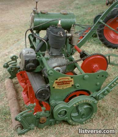 Ransomes Auto Mower 1920