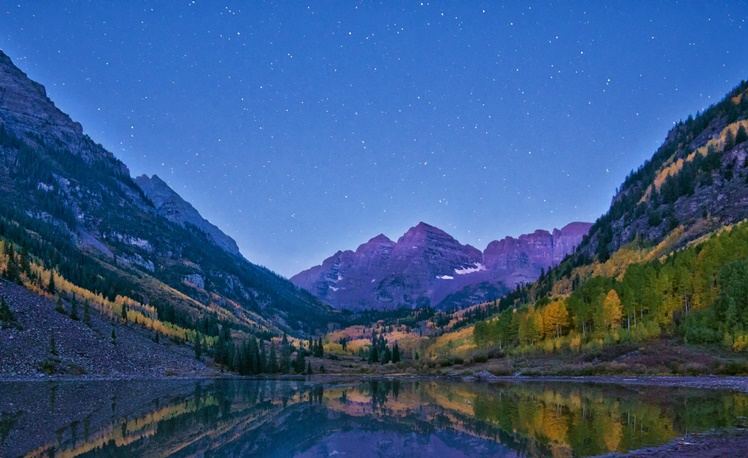 1. Maroon Lake, Colorado