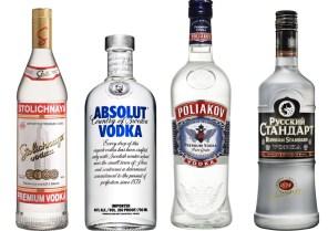 Vodka-Quartet