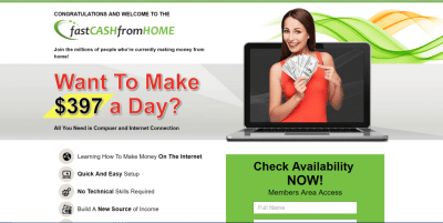 Is Fast Cash From Home A Scam? - Extra Paycheck Online