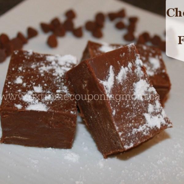 Recipes ~ Chocolate Peanut Butter Fudge