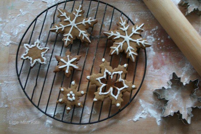 Gingerbread Cookies | Little Miss Kate