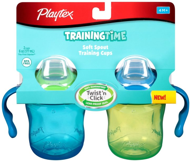 Playtex Baby The First Sipster Spill-Proof Cup