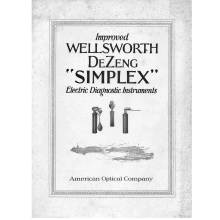 "American Optical ""Simple"" Instrument Catalog"