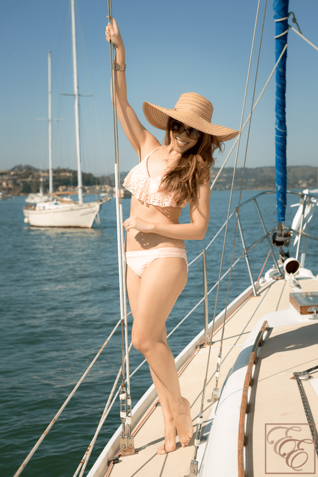 Target Style - Sophisticated Swimwear Look for Less than $50 - Style on a budget!