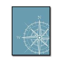Compass Nursery Room Poster