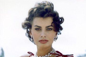 Italian actress Sophia Loren, circa 1955. (Photo by Diltz/RDA/Getty Images)