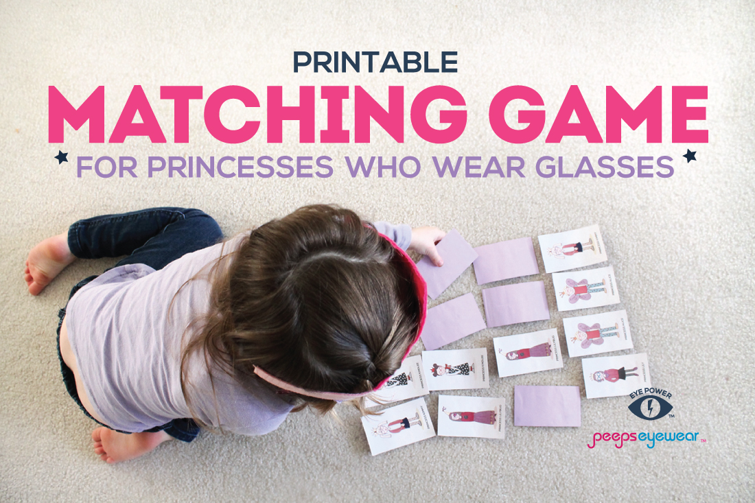 Free Printable Princess Matching Game